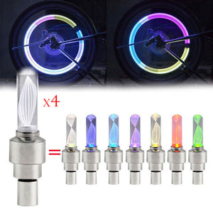 4pcs Led Bicycle Lights