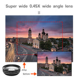 Powstro Phone Camera Lens 2 in 1