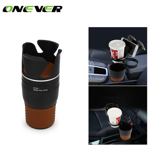 Onever Car Phone Holder - Storage Box - Drink Cup Holder