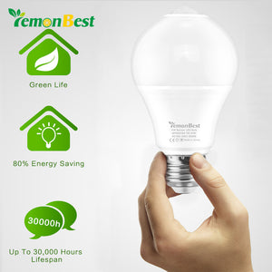 Lemonbest - 7W Motion Sensor  LED Light Bulb