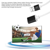 FORNORM - HDMI out Plug and Play HD Mirroring Cable