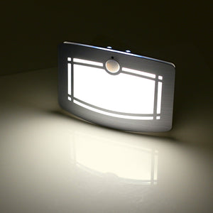 Motion Sensor Activated LED Wall Lamp