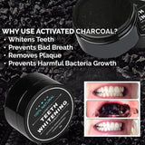 Teeth Whitening Powder - Charcoal Bamboo Toothpaste
