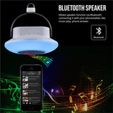 LE Portable Bluetooth Speaker - Night Light Music Player