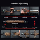 Multifunctional Paracord Survival Bracelet