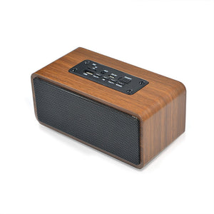 Wooden Bluetooth Speaker Wireless Portable Mini Audio Subwoofer