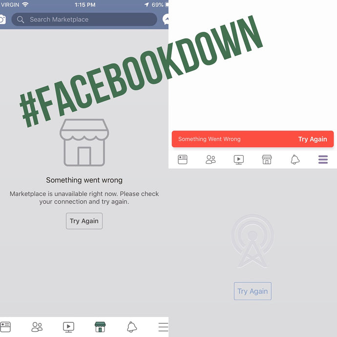 BREAKING: Facebook is... DOWN?