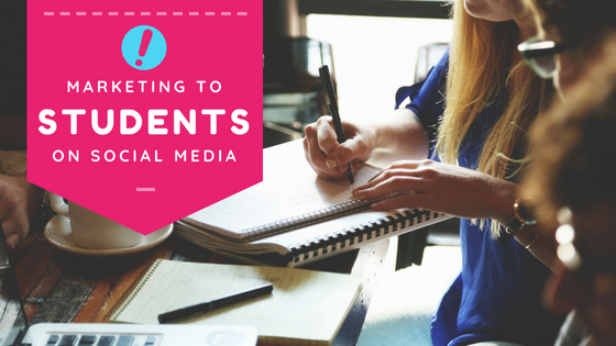 How to use Social Media to Market to Students - London, Kingston & Other College Towns