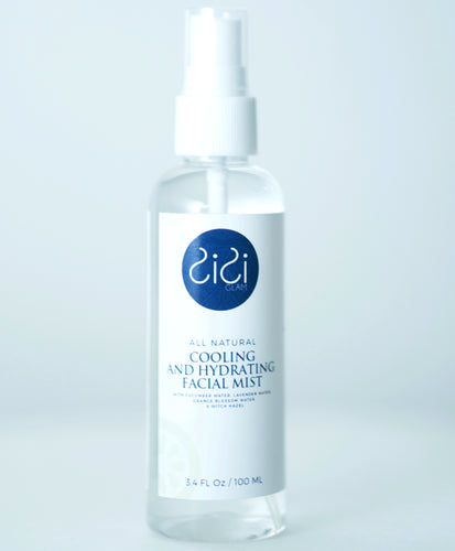All Natural Cooling and Hydrating Facial Mist 3.4 Oz