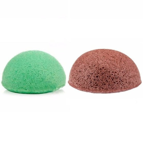 Combination Skin Facial Konjac Sponge Bundle
