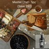 Virginia Boys Kitchens Save $50 - MASTER CHEF - 5PC SET - 3 Boards of Different Sizes + Wood Oil + Chefs Knife