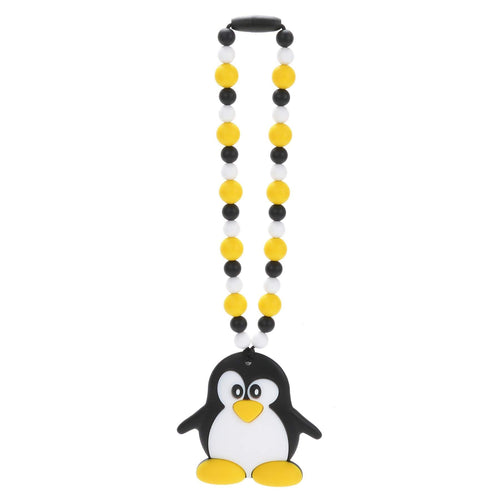 Nummy Beads Penguin Baby Carrier Teether Toy