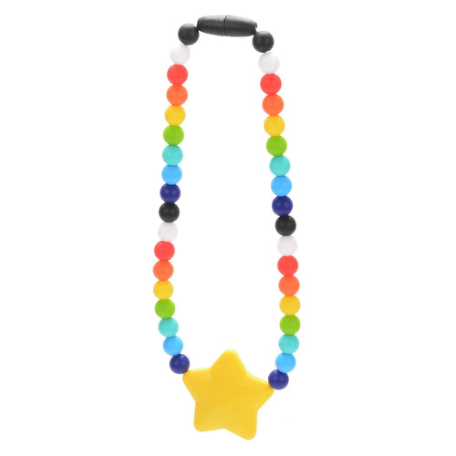 Nummy Beads Rainbow Star Baby Carrier Teether Toy