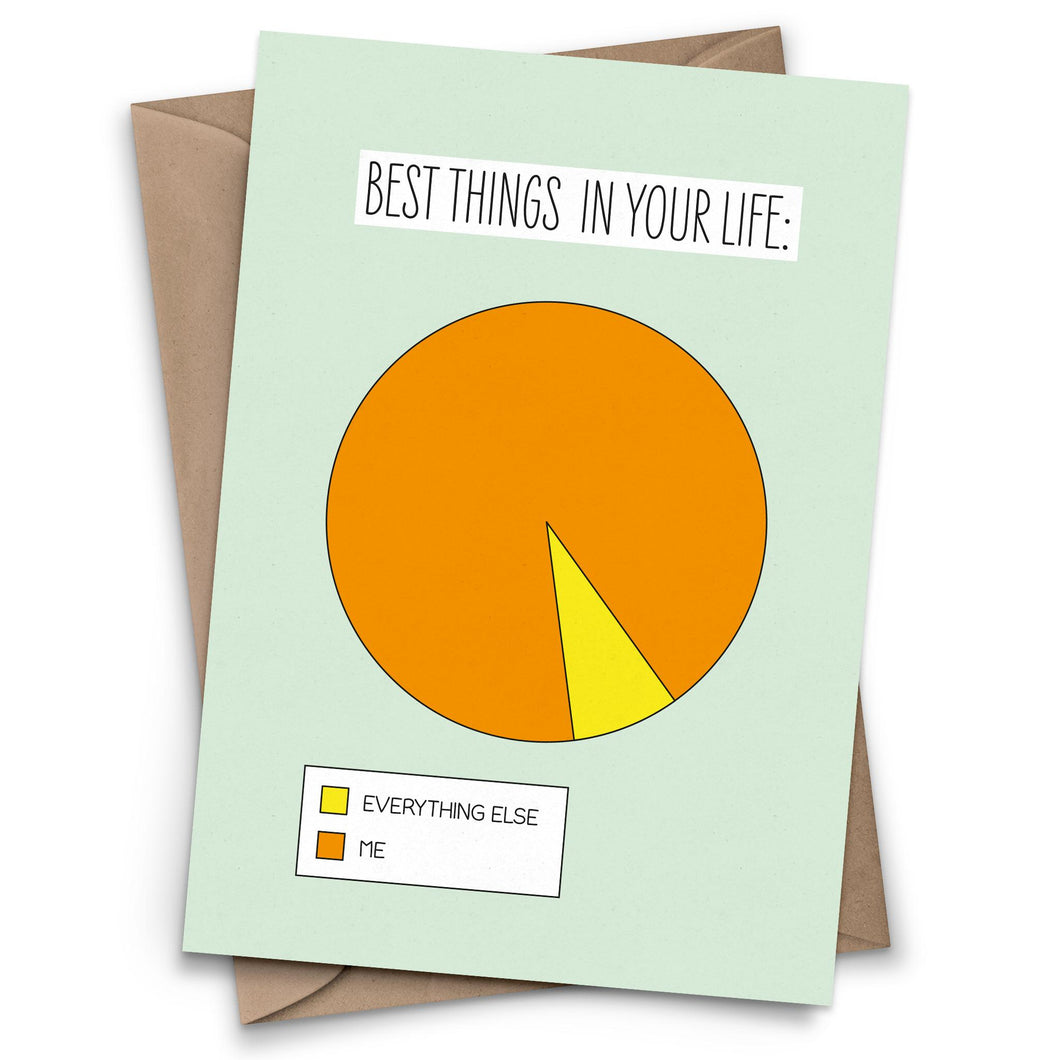 Pie Chart of the Best Things