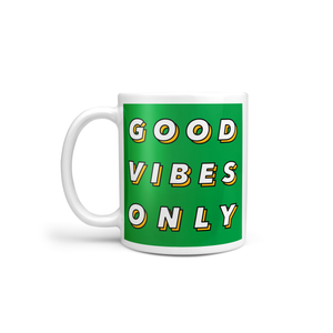 Good Vibes Only Mug (Multi-Colour)