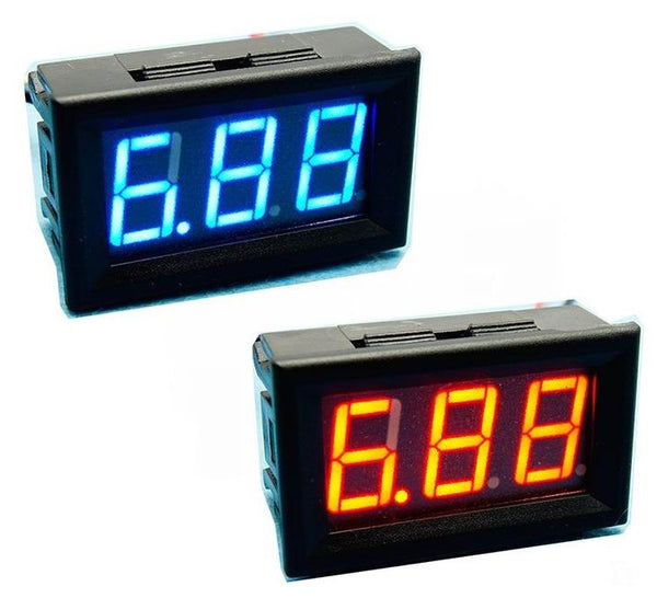 High Accuracy DC Digital Voltage Meter with panel-mount case