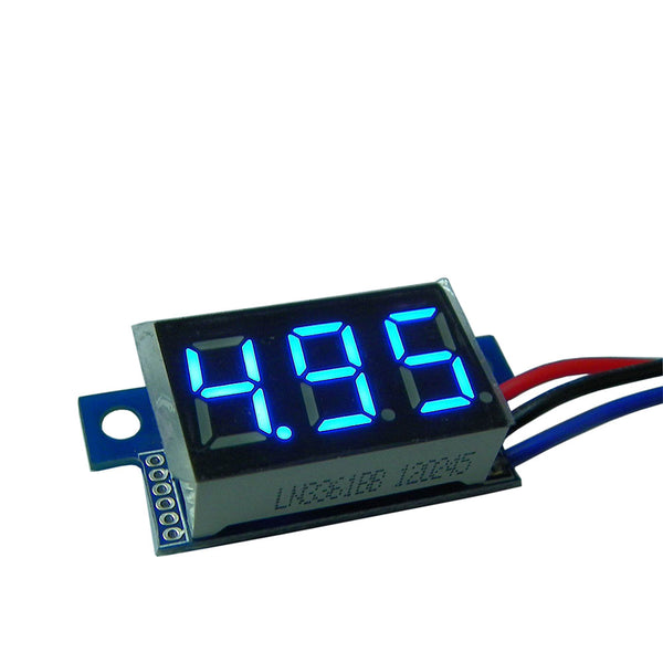 High Accuracy DC Digital Voltage Meter