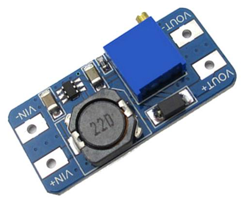 Step-up Converter with input voltage as low as 2V