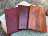 Vegan Leather Writing Journals -- Customer Favorites
