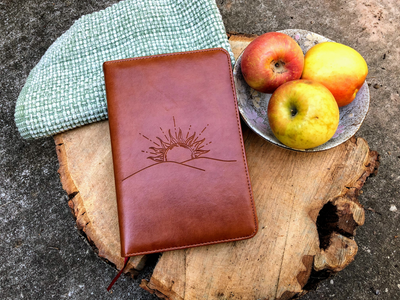 Sunrise Journal, Writing Notebook, Personal Diary, Refillable