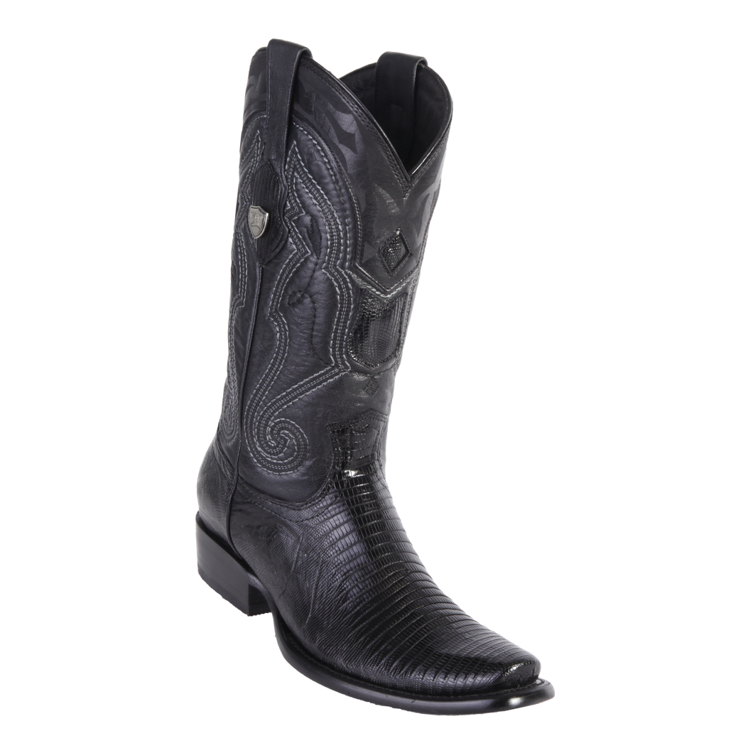 Men's Dubai Boot Genuine Teju - Black - H79