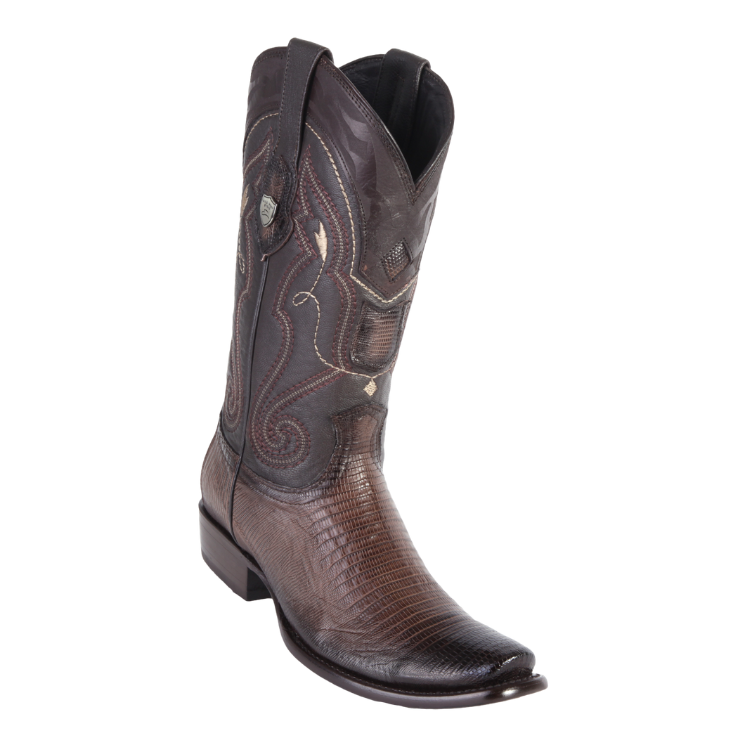 Men's Dubai Boot Genuine Teju - Faded Brown - H79