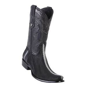 Men's Dubai  Boot Genuine Stingray Rowstone - Black - H79
