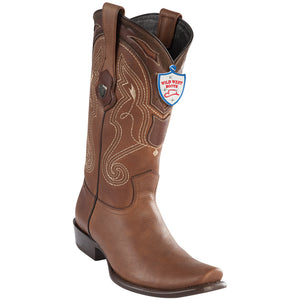Men's Wild West Genuine Grisly Boots Dubai Toe Brown