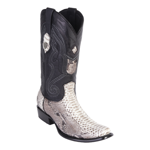 Men's Dubai Boot Genuine Python - Natural - H79