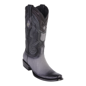 Men's Dubai  Boot Genuine Shark - Faded Gray - H79
