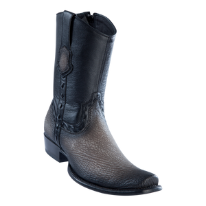 Men's Dubai Short Boot Genuine Shark - Faded Gray - H79B