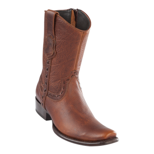 Men's Dubai Short Boot Genuine Rage - Walnut - H79B