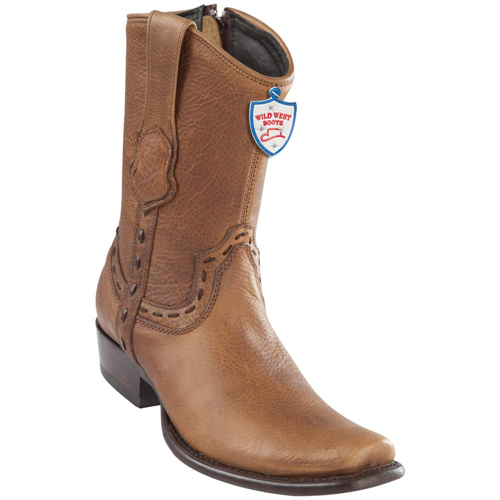Men's Wild West Genuine Rage Boots Dubai Toe Honey