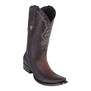 Men's Dubai Boot Genuine Shark with Deer - Faded Brown - H79F