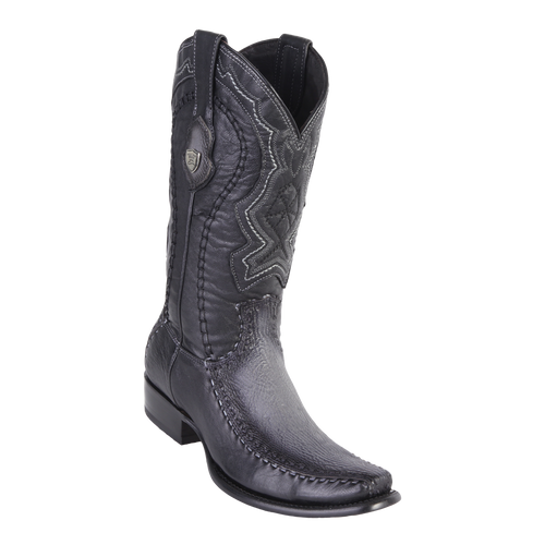 Men's Dubai Boot Genuine Shark with Deer - Faded Gray - H79F
