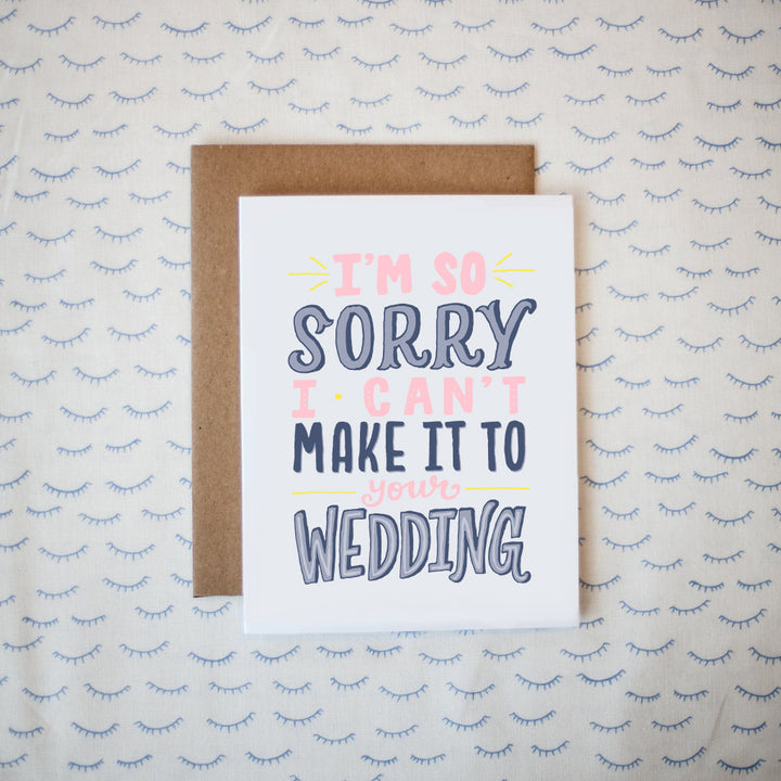 Wedding RSVP Greeting Card