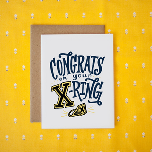 Congrats on your X-Ring (St.FX Graduation) Card