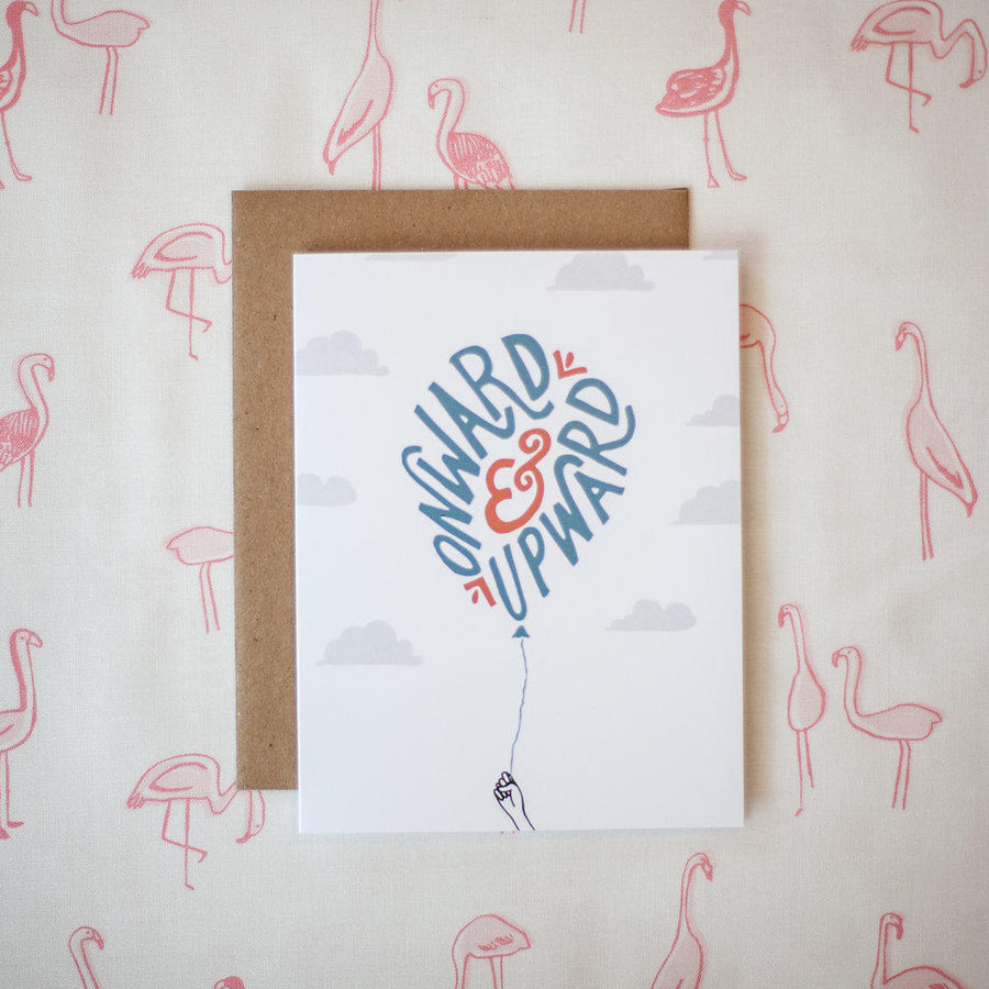 Onward & Upward Card
