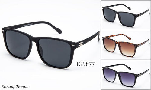 12 Pairs assorted Sunglasses - Wholesale Unisex Fashion Wayfarer Sunglasses Ig9877