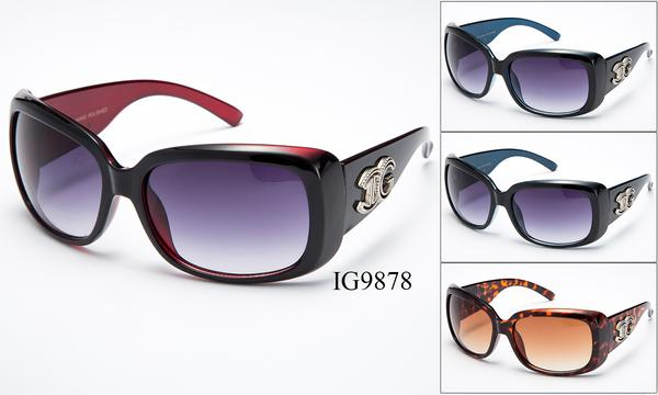 12 Pairs assorted Sunglasses - Wholesale Womens Fashionable Plastic Thick Armband Sunglasses Ig9878