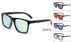 12 Pairs assorted Sunglasses - Wholesale Unisex Wayfarer Classic Fashionable Sunglasses Ig9914