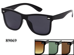 12 Pairs assorted Sunglasses - Wholesale Mens Wayfarer Fashionable Sunglasses 89069