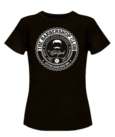 Barbershop Girlie Shirt
