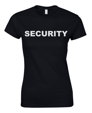 Security Girlie Shirt