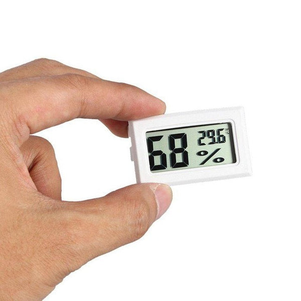 Use Temperature Humidity Digital and Home Indoor etc Mini Hygrometer Easy Home Monitor Carry LCD Outdoor Thermometer 5