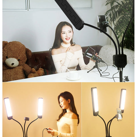 Photography Studio Makeup LED Fill Light Dimmable Video Beauty Light Device LHB99 - ZURBEXPRESS