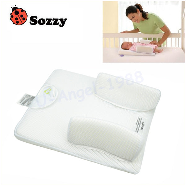 1pc Sozzy Comfortable Baby Sleeping Pad Pillow Baby Bed Shaping Pillow - ZURBEXPRESS