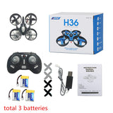 JJRC H36 Mini Drone RC Drone Quadcopters Headless Mode One Key Return RC Helicopter VS JJRC H8 Mini H20 Dron Best Toys For Kids - ZURBEXPRESS