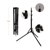 "18""240pcs LED 5500K Dimmable Photo/Studio/Phone/Video LED Ring Light Tripod Stand For Camera - ZURBEXPRESS"