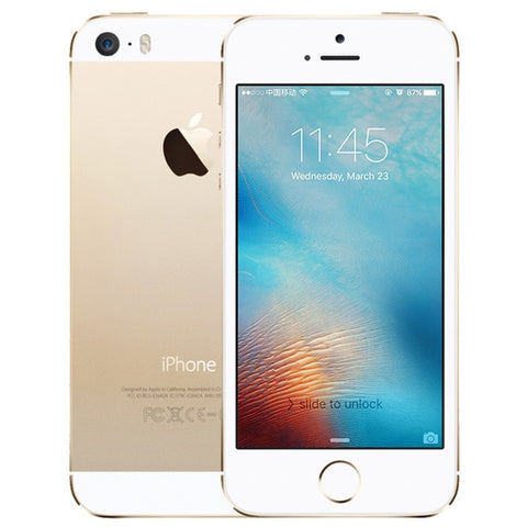 Apple iPhone 5S 16GB / 32GB ROM IOS Touch ID Fingerprint  4.0'' A7 IPS 4G LTE Mobile iphone5s A1533 / A1457 - ZURBEXPRESS